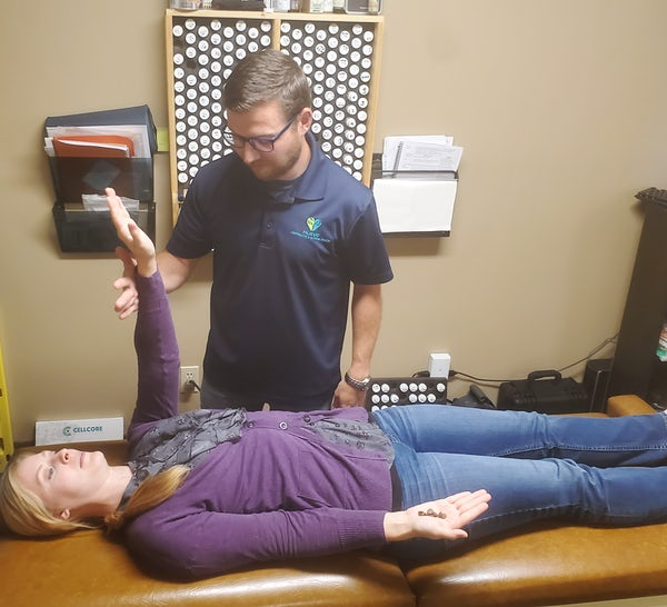 Pajevic Chiropractic Nutrition response testing