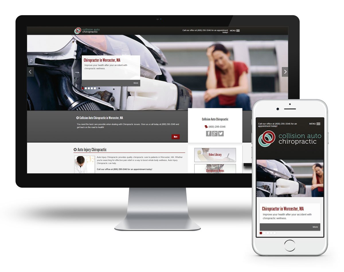 LIVE PREVIEW - Auto Injury - Echelon 700 - Chiropractic Website Design
