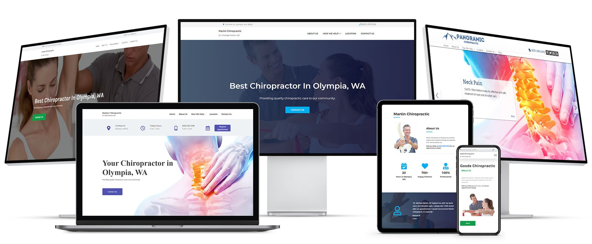 ChiroHosting - N8 Chiropractic Website - 100% Mobile-friendly websites look professional on every device