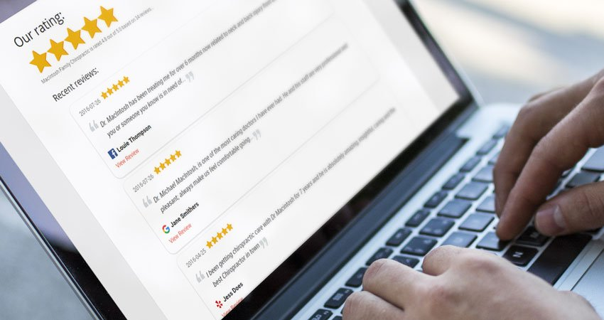 Show off your 5-star reviews