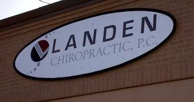 Landen Chiropractic - Exterior Signage