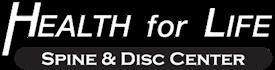 Health For Life Spine & Disc Center Logo